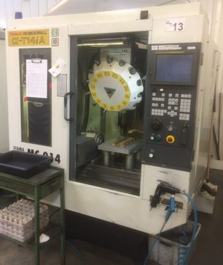 photo FANUC ROBODRILL ALPHA T14IA